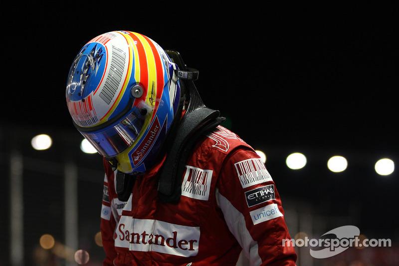 Race winnaar Fernando Alonso, Scuderia Ferrari