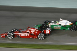 Dario Franchitti, Target Chip Ganassi Racing, Tony Kanaan, Andretti Autosport