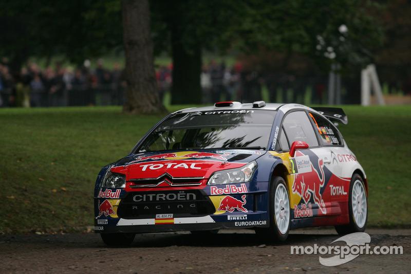 Dani Sordo en Diego Vallejo, Citroën C4 Citroën Total World Rally Team