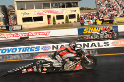 Sunday Pro Stock Motorcycle