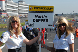Martin Depper's grid girls