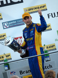 Race winner Andrew Jordan