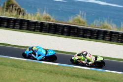 Alvaro Bautista, Rizla Suzuki MotoGP and Mika Kallio, Pramac Racing Team