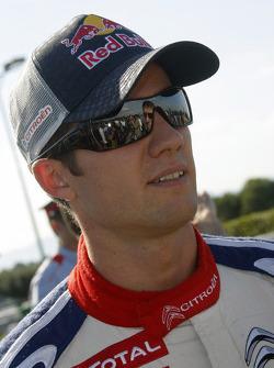 Course de karting au Rallye de Catalunya : le vainqueur Sébastien Loeb