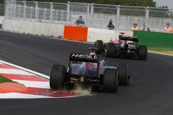 Sebastien Buemi, Scuderia Toro Rosso at turn 16