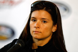 Danica Patrick speaks at a press conference