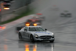 The race under the Safety car, Sebastian Vettel, Red Bull Racing