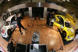 Le garage de Mücke Motorsport