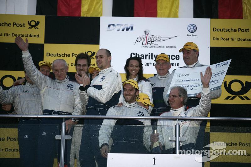 DTM Charity Race geeft 200.000 Euro voor Wing of Life