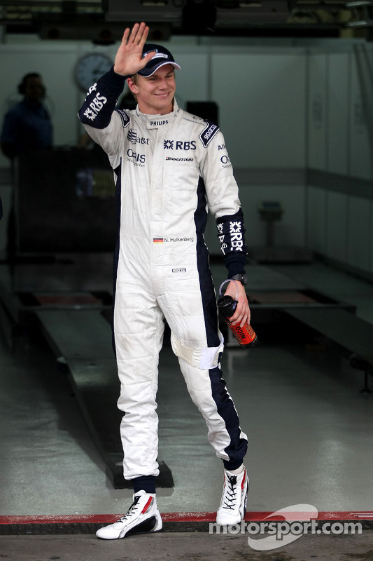 Володар поулу Ніко Хюлькенберг, Williams F1 Team