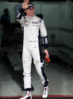Pole winner Nico Hulkenberg, Williams F1 Team