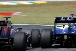 Jaime Alguersuari, Scuderia Toro Rosso and Rubens Barrichello, Williams F1 Team