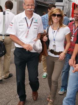 Dieter Zetsche (Mercedes) met dochter Nora