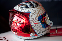 Sam Bird helmet
