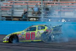 Martin Truex Jr. crash