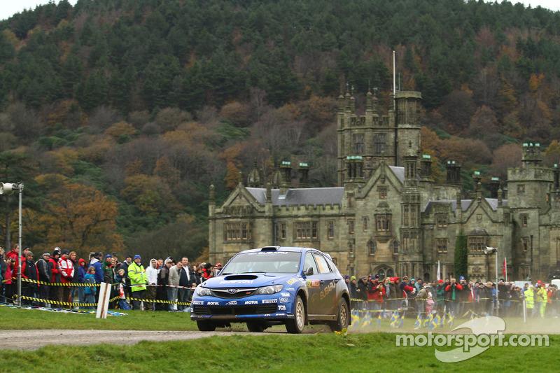Toshihiro Arai et Glenn Macneall, Subaru Impreza STI, Subaru Team Arai