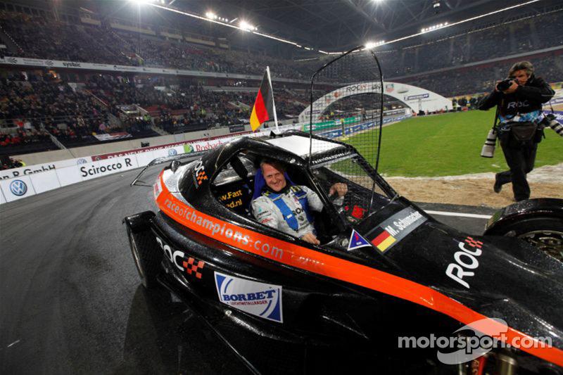 Final: Ganador de la Copa de las Naciones Michael Schumacher para el equipo Alemania