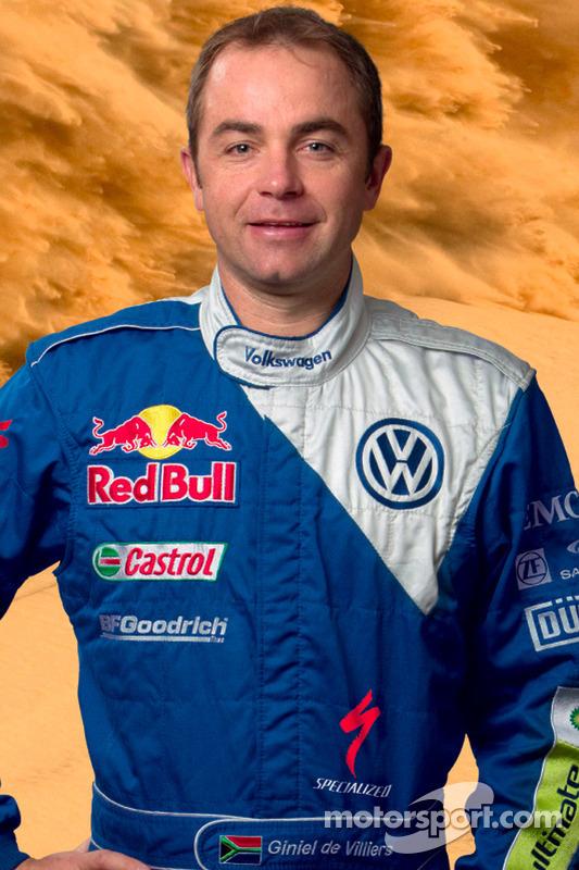 Volkswagen Motorsport: rijder Giniel De Villiers