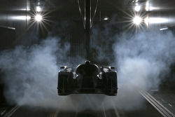 The 2011 Audi R18 TDI in development in the wind tunnel