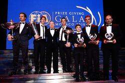FIA President Jean Todt with the 2010 FIA World Champions