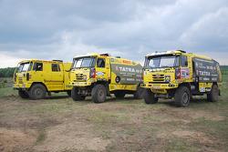Présentation de l'équipe de camion