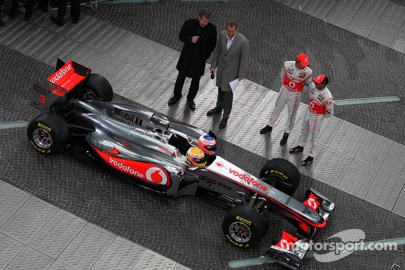 Jenson Button, McLaren Mercedes, Lewis Hamilton, McLaren Mercedes
