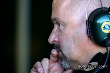 Team Lotus' Mike Gascoyne