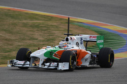 Nico Hulkenberg, Force India F1 Team, Test Driver in last years car