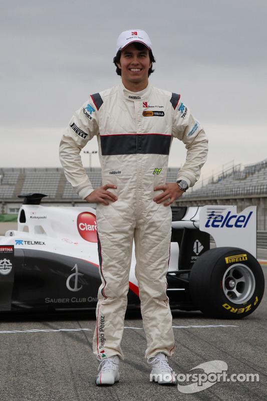 Sergio Perez, Sauber F1 Team, C30