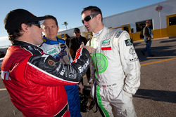 Brendan Gaughan, Spencer Pumpelly and Andy Lally