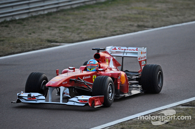 2011: Ferrari 150° Italia (одна победа, 3-е место в КК)