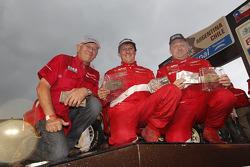 Podium: car category 23th place Frédéric Chavigny and Willy Alcaraz