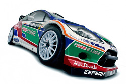 Ford Fiesta RS World Rally Car