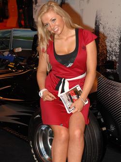 Silverstone Promo Girl