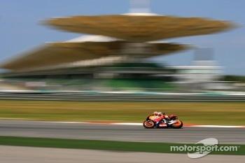 Casey Stoner of Repsol Honda Team
