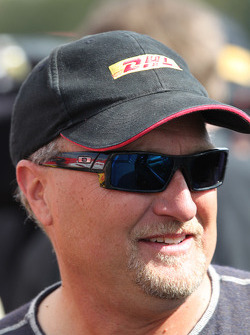 DHL Toyota Camry Funny Car Pilot, Jeff Arend