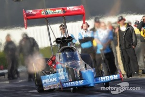 T. J.. Zizzo in his Peak Performance Top Fuel Dragster