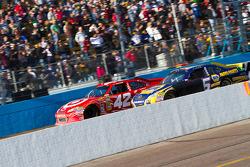 Juan Pablo Montoya, Earnhardt Ganassi Racing Chevrolet and Martin Truex Jr., Michael Waltrip Racing Toyota
