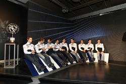 The Peugeot Sport drivers for 2011