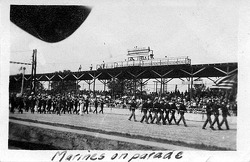 1921 Indy 500 Marines on Parade