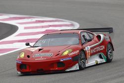 #72 AF Corse Ferrari F430: Robert Kauffman, Michael Waltrip, Rui Aguas