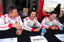 Jean-Denis Deletraz, Stéphane Ortelli and Frederic Makowiecki