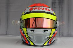 Helmet of Pastor Maldonado, Williams F1 Team