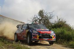 Sébastien Ogier and Julien Ingrassia, Citroen DS3 WRC, Citroen Total World Rally Team