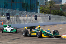 Tony Kanaan, KV Racing Technology-Lotus, Simona de Silvestro, HVM Racing