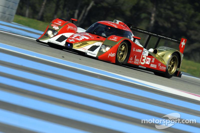#13 Rebellion Racing Lola B10/60 Coupé - Toyota: Andrea Belicchi, Jean-Christophe Boullion