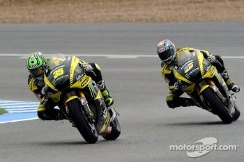Cal Crutchlow, Monster Yamaha Tech 3, Colin Edwards, Monster Yamaha Tech 3