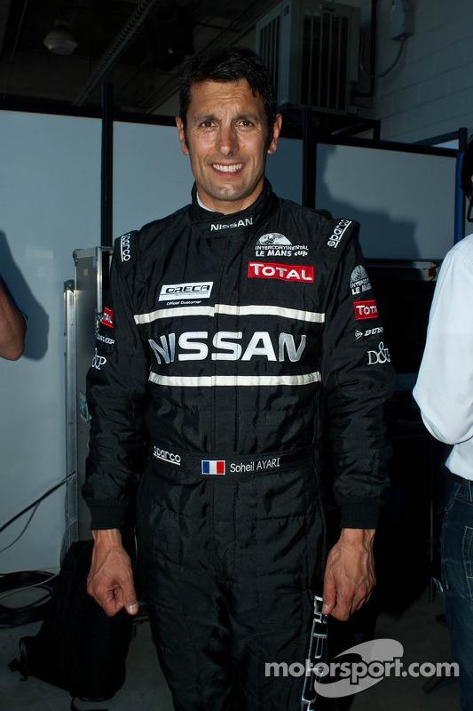 Signatech Nissan Oreca 03 Nissan : Franck Mailleux, Lucas Ordonez, Soheil Ayari
