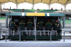 Team Lotus Pitwall