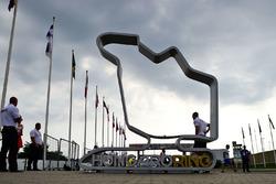 Skulptur am Hungaroring